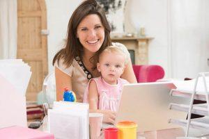 como uma revendedora pode equilibrar trabalho e família