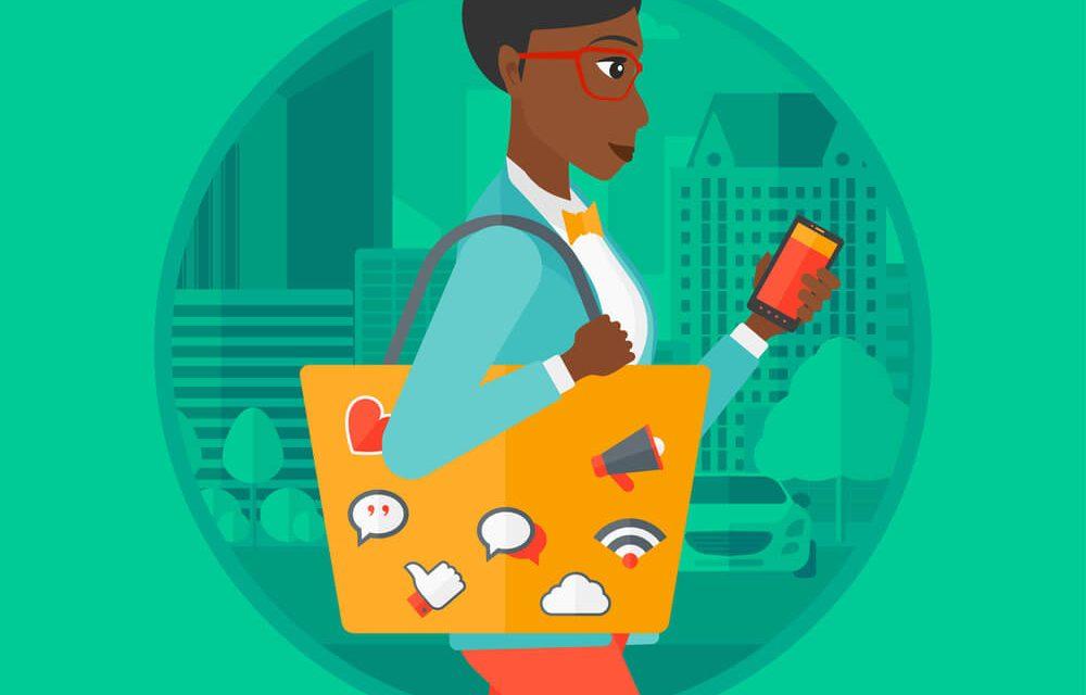 Como uma revendedora pode aproveitar o trajeto até a casa da cliente?