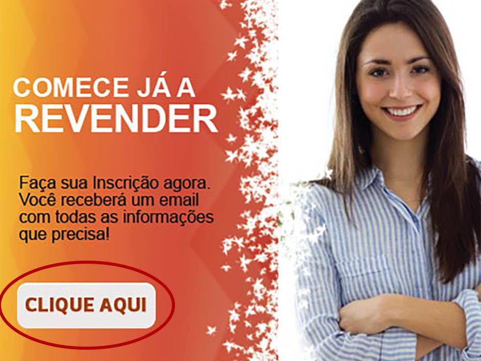 Revenda +Amigas Botao Pagina